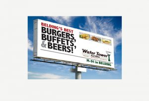 Grand Rapids outdoor billboards. Ray Bauer.